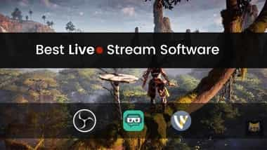 Best LIVE STREAM Software for PC / WINDOWS