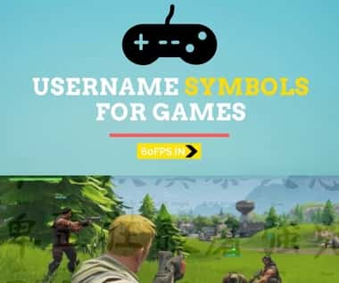 Pubg Username Symbols For Clan – 2020 List