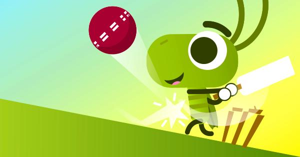 doodle cricket