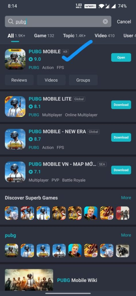 taptap pubg download