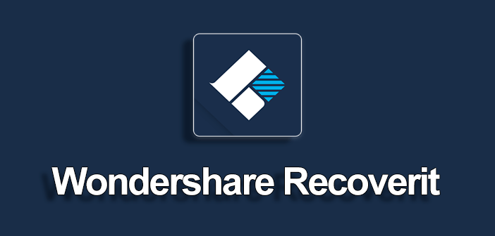 Wondershare-Recoverit data recovery tool
